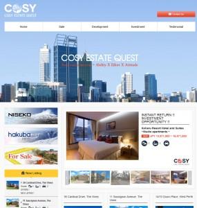 COSY Estate Quest  Real estate success = Ability X Effort X Attitude